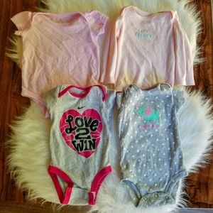 Newborn clothes /baby / bundle of four